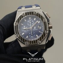 Audemars Piguet Platine Remontage automatique Bleu occasion Royal Oak Offshore Chronograph