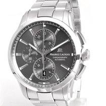 Maurice Lacroix Pontos Chronographe new Automatic Chronograph Watch with original box PT6388-SS002-330-1