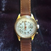 Chronographe Suisse Cie Or jaune 38mm Remontage automatique 5C3L73 occasion France, PARIS