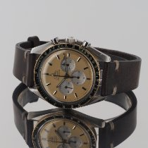 Omega Speedmaster Professional Moonwatch tweedehands 42mm Goud Chronograaf Leer