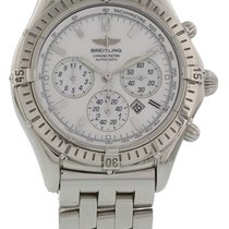 Breitling Shadow Flyback Staal 39mm Parelmoer