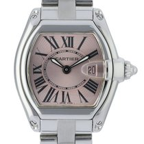Cartier Roadster Steel 32mm Pink United States of America, New York, New York