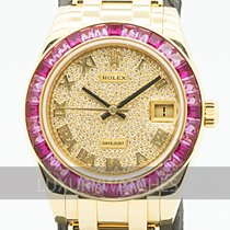 Rolex Pearlmaster Yellow gold 34mm Gold
