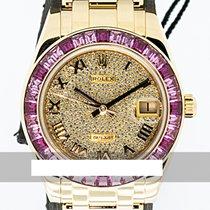 Rolex Pearlmaster Oro amarillo 34mm Oro