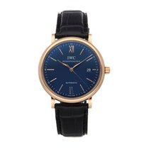 IWC Portofino Automatic Rose gold 40mm Blue Roman numerals United States of America, Pennsylvania, Bala Cynwyd