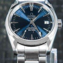 Omega Seamaster Aqua Terra Acier 39mm Bleu Sans chiffres