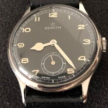 Zenith Sporto Steel 34mm Black