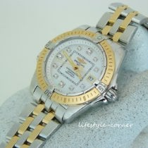 Breitling Cockpit Lady Goud/Staal 32mm Parelmoer
