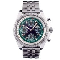 Breitling Bentley GT Steel 45mm Green No numerals