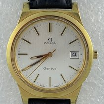 Omega Genève Gold/Steel 37mm Silver United States of America, California, Woodland Hills