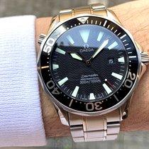 Omega Seamaster Diver 300 M Ocel 41mm Černá Bez čísel