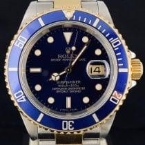 Rolex Submariner Date 16613 Odlično Zlato/Zeljezo 40mm Automatika