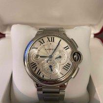 Cartier Ballon Bleu 44mm pre-owned 44mm White Chronograph Date