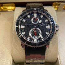 Ulysse Nardin Maxi Marine Diver Сталь 42.7mm Чёрный Без цифр Россия, Sochi