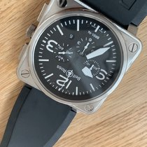 Bell & Ross BR 01-94 Chronographe BR01-94 Goed Staal 46mm Automatisch