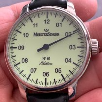 Meistersinger Steel 43mm Automatic AM3303 pre-owned United Kingdom, St. Albans