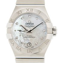 Omega Constellation Petite Seconde Сталь 27mm Белый