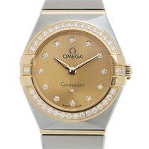 Omega Constellation Quartz Acero y oro 25mm Oro
