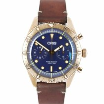 Oris Carl Brashear Bronze 43mm Blue United States of America, New York, Lynbrook