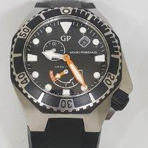 Girard Perregaux Sea Hawk Acero 44mm Negro Sin cifras