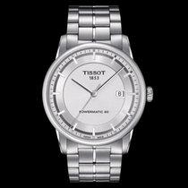 Tissot Luxury Automatic Zeljezo 41mm Srebro Bez brojeva