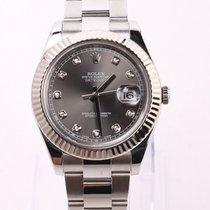 Rolex Datejust II Steel 41mm Grey No numerals United States of America, Nevada, Las Vegas