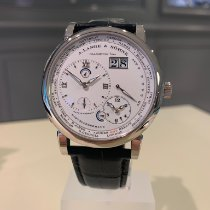 A. Lange & Söhne Lange 1 Or blanc 41.9mm Argent Romain
