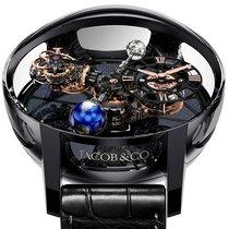 Jacob & Co. Керамика Механические Черный Римские 50mm новые Astronomia
