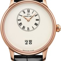 Jaquet-Droz Petite Heure Minute J016933200 New Red gold 43mm Automatic