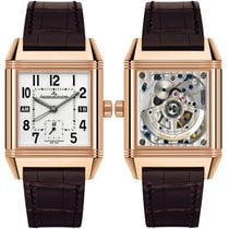 Jaeger-LeCoultre Reverso Squadra Hometime Rose gold 35mm Silver United States of America, New York, New York