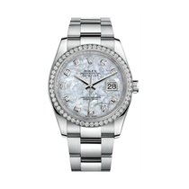 Rolex Datejust Steel 36mm Mother of pearl United States of America, California, los angeles