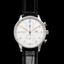 IWC Portuguese Chronograph Steel 40.9mm Silver United States of America, California, Burlingame
