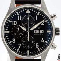 IWC Fliegeruhr Chronograph Stahl 43mm Braun Deutschland, Stuttgart