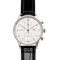 IWC (アイ・ダブリュー・シー) ポルトギーゼ クロノグラフ 新品 2020 自動巻き 正規のボックスと正規の書類付属の時計 IW371604