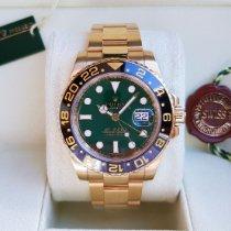 Rolex 116718LN Gelbgold 2014 GMT-Master II 40mm gebraucht Deutschland, Nordenham