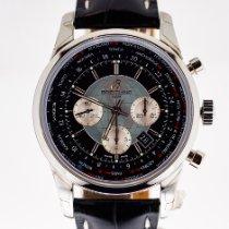 Breitling Transocean Chronograph Unitime nouveau 2015 Remontage automatique Chronographe Montre avec coffret d'origine et papiers d'origine AB0510U4/BB62