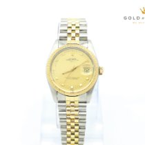 Rolex 15053 Gold/Steel 1981 Oyster Perpetual Date 34mm pre-owned United States of America, Nevada, Las Vegas