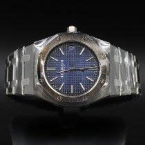 Audemars Piguet Titanium Automatisch Blauw Geen cijfers 39mm nieuw Royal Oak Jumbo