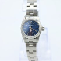 Rolex Oyster Perpetual Acero 24mm Azul