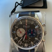 Zenith El Primero 36'000 VpH new 2020 Automatic Chronograph Watch with original box and original papers 03.2046.400/25.C802