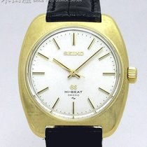 Seiko Yellow gold 41mm Manual winding 4520-8010 pre-owned