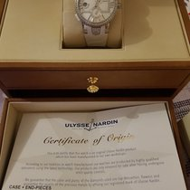 Ulysse Nardin Executive Dual Time Lady pre-owned 40mm Mother of pearl Rubber