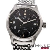IWC Pilot Mark occasion 36mm Noir Date Acier