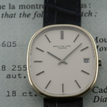 Patek Philippe Golden Ellipse Or blanc 38mm Blanc