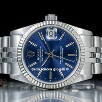 Rolex Lady-Datejust pre-owned 31mm Blue Date Fold clasp