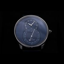 Jaquet-Droz Grande Seconde Stal 43mm Niebieski