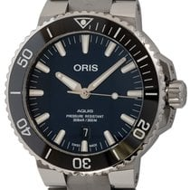 Oris Aquis Date Steel 43mm Blue United States of America, Texas, Austin