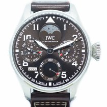 IWC Big Pilot Steel 46mm Brown Arabic numerals Singapore, Singapore
