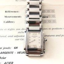 Patek Philippe Steel Quartz White No numerals pre-owned Twenty~4