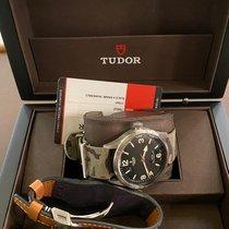 Tudor Heritage Ranger Steel 41mm Black Arabic numerals